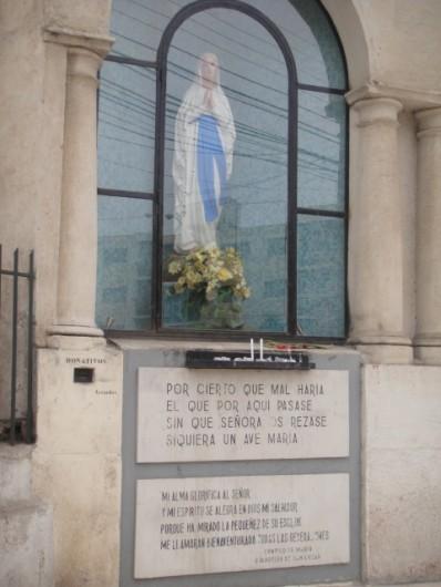 DSC00999   Mensaje de la Virgen al cruzar la calle en Viña del Mar