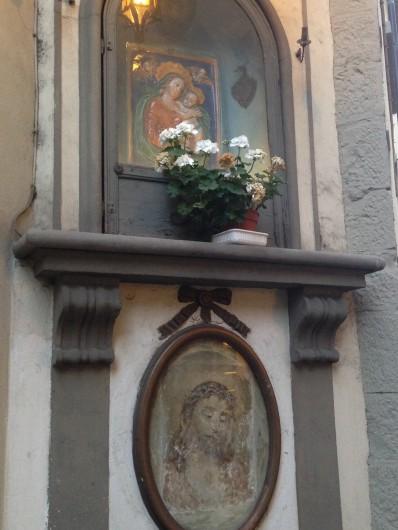 Jesús y María en florencia